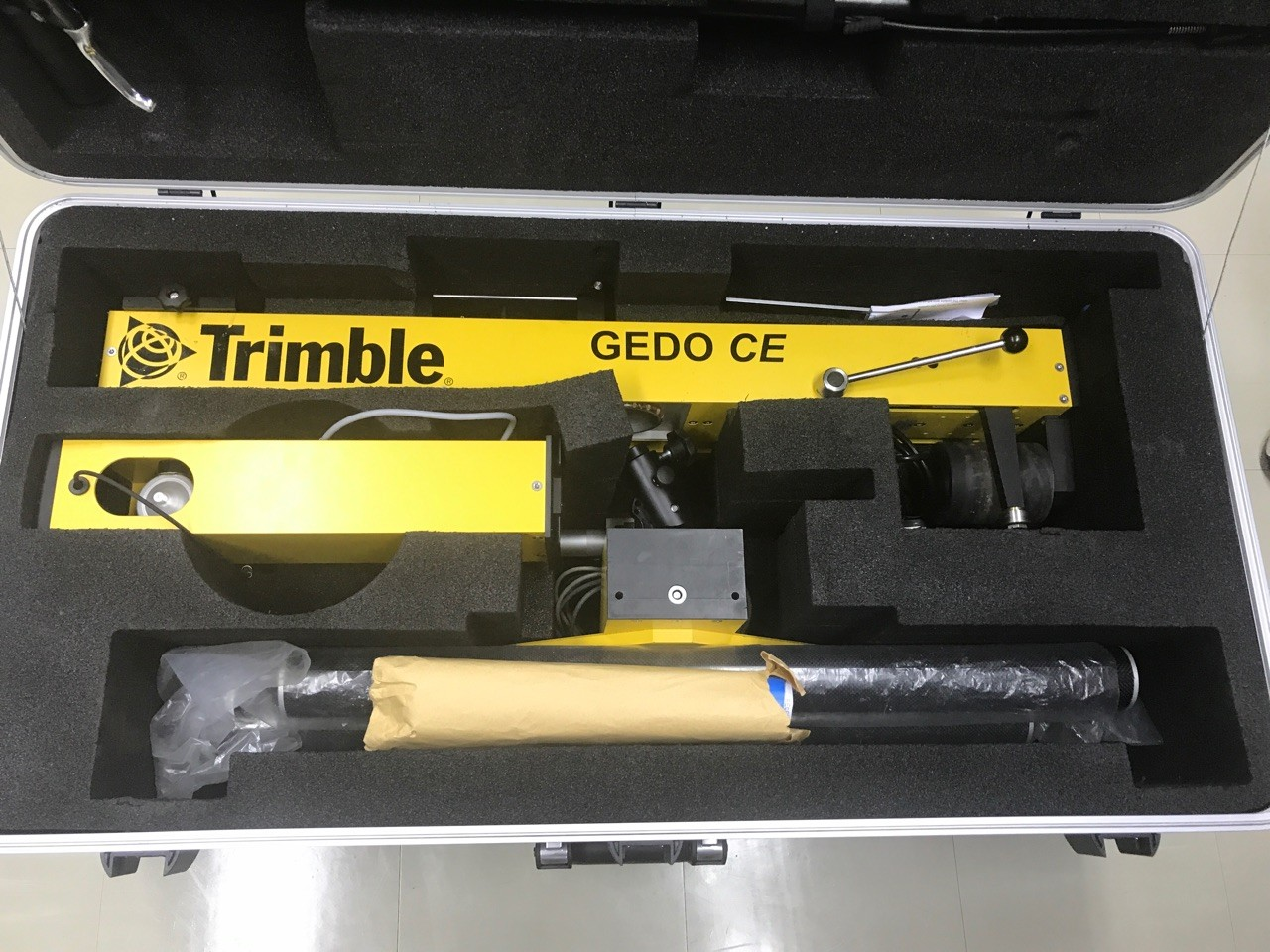 Trimble Gedo軌道測量